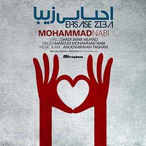 دانلود آهنگ مسعود محمد نبی بنام احساس زیبا