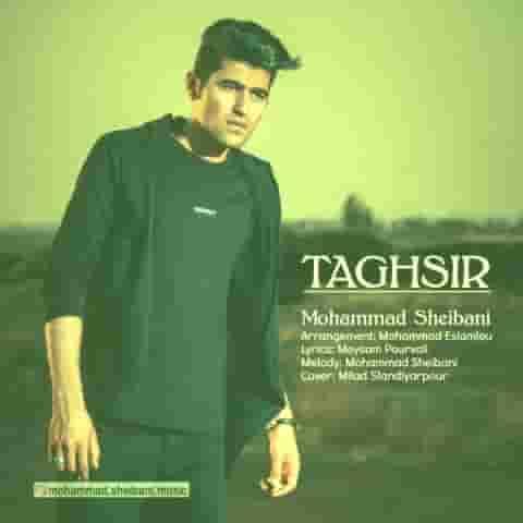دانلود آهنگ محمد شیبانی به نام تقصیر