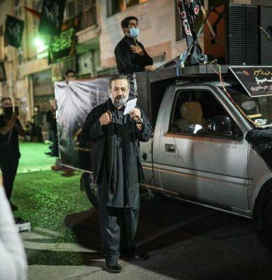 دانلود مداحی حاج محمود کریمی گرد و خاک میبینم روی سرت