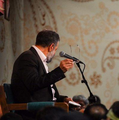 دانلود نوحه حاج محمود کریمی مگه چی میشه که گلای منم